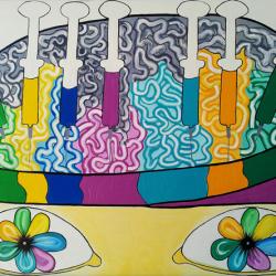 Creativitate - pictura psiholog galati Oana Rafa