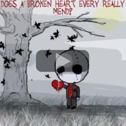 inima franta - dragoste neimpartasita