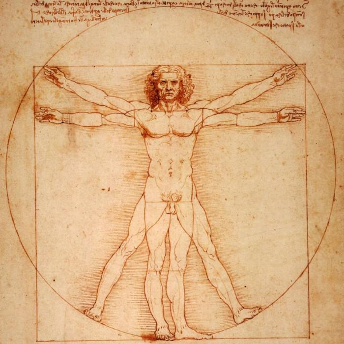 omul vitruvian - simetrie, creativitatea gestaltista - intepretare psihologica a creativitatii