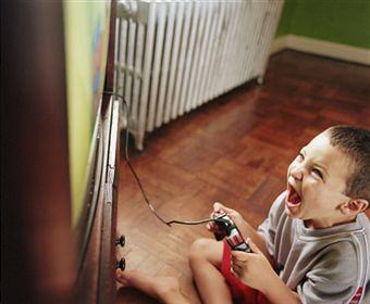 Agresivitatea in jocuri dezvolta copiilor o mai mare capacitate de a fi si ei agresivi apoi in mediul lor.